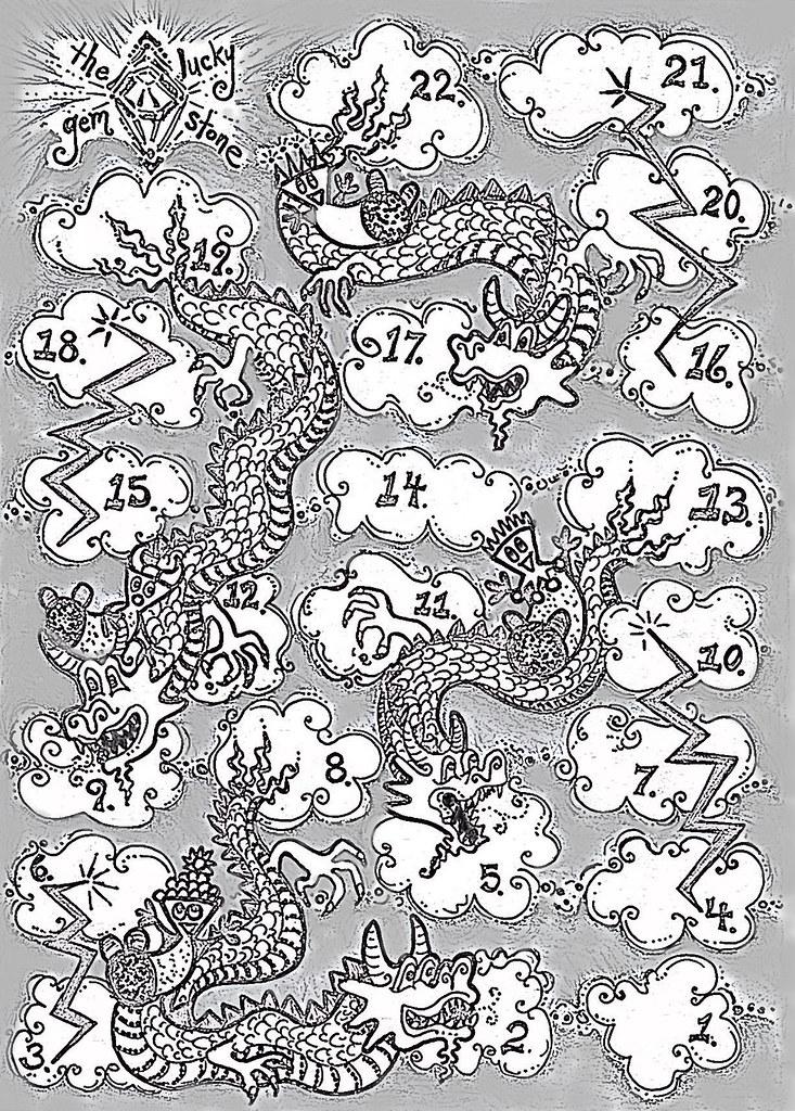 Dragons -n- Lightning Bolts