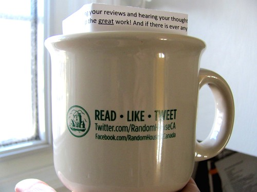 Random House of Canada sent me a mug!