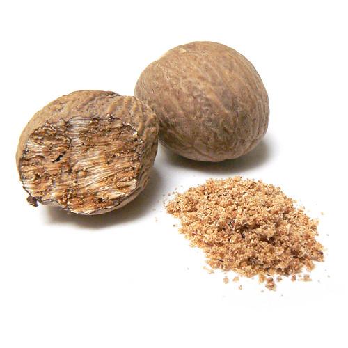 Nutmeg (Myristica fragrans) by Ayala Moriel
