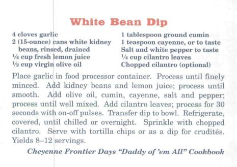 Big Sky White Bean Dip