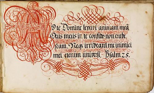 Johann Hering Calligraphy 1
