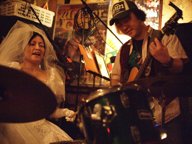 "The Warrior Celt ""just married"" session, Tokyo, 28 Jan 2012. 154"