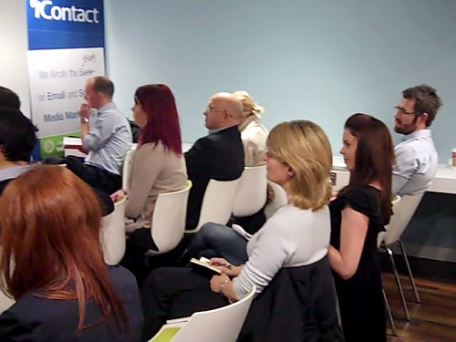 Attendees of the iContact UK Seminar in London