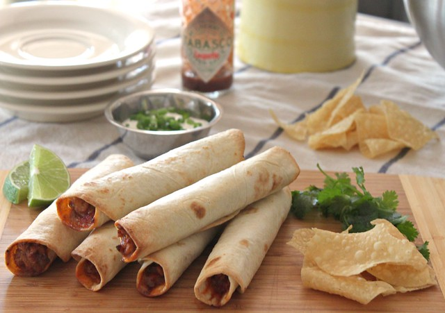 Kitchen Snaps: Baked Chicken and Cheese Taquitos ~ Perfect ...