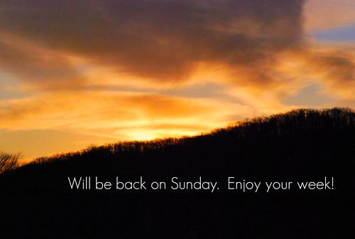 Sunday Sunset