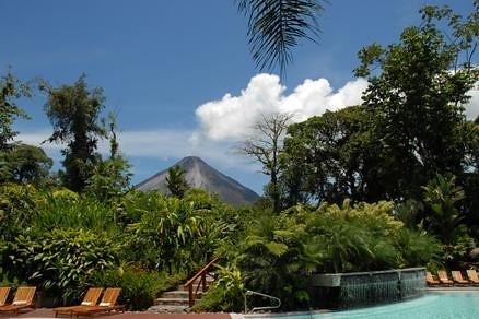 Classic-Vacations-Tabacon Grand Spa Thermal Resort in Costa Rica.