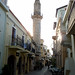 Chania Mosque and Street Scene - Crete, Greece