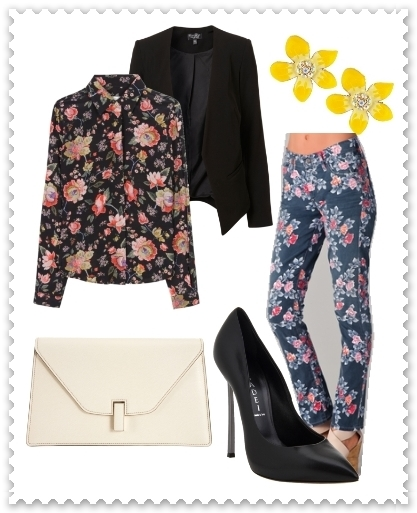 Wear Head to Toe Florals