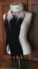 Custom Vampire Bite Scarf