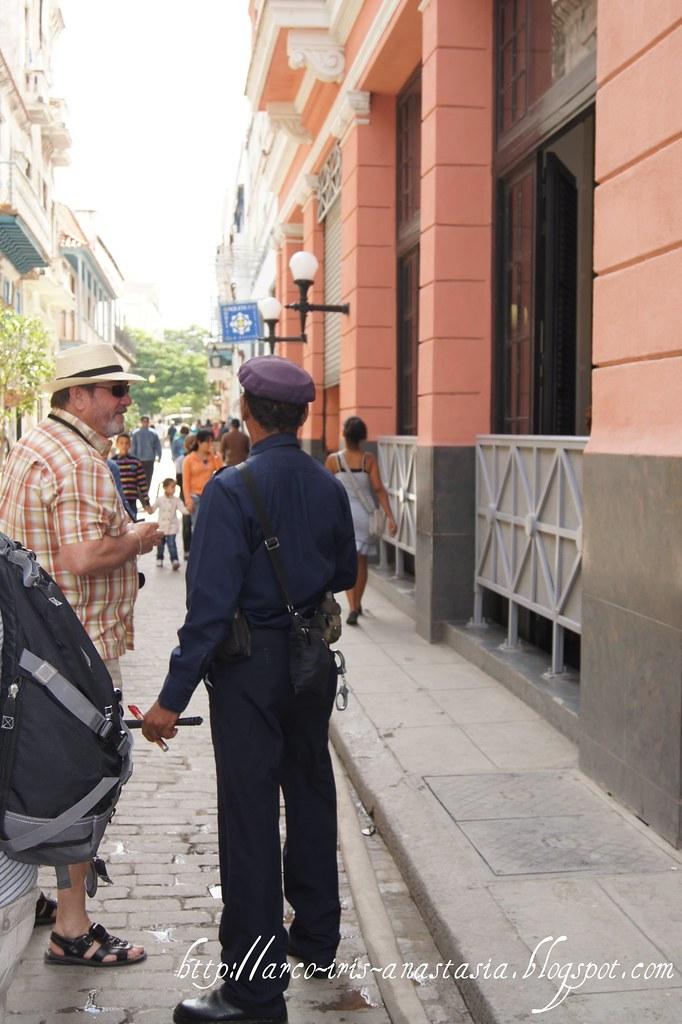 Policeman in Havana