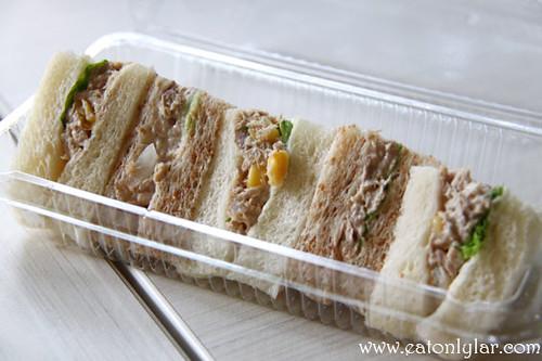 Mini Tuna Sandwich, Ficelle Boulangerie & Patisserie