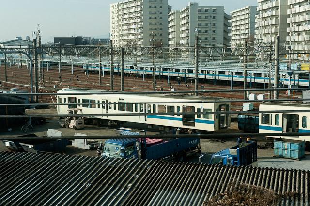 小田急電鉄 5200形 5255F クハ5555 廃車解体作業中