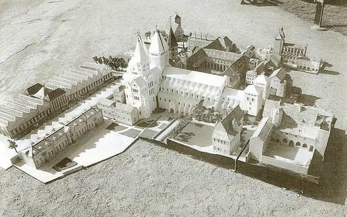 Maquette de Cluny 2