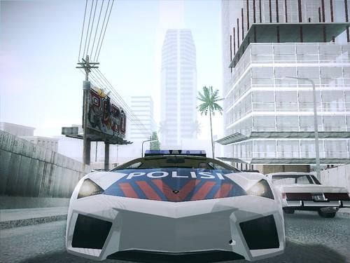 Lamborghini Reventon Indonesian Police