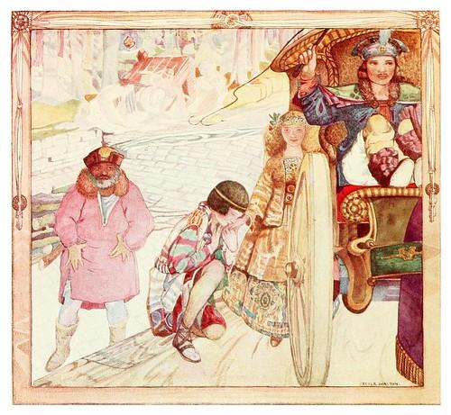 016-La recompensa de la niña buena-Polish fairy tales 1920-Cecile Walton