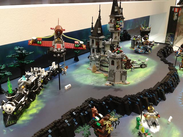 LEGO Monster fighters @ German Toyfair 2012