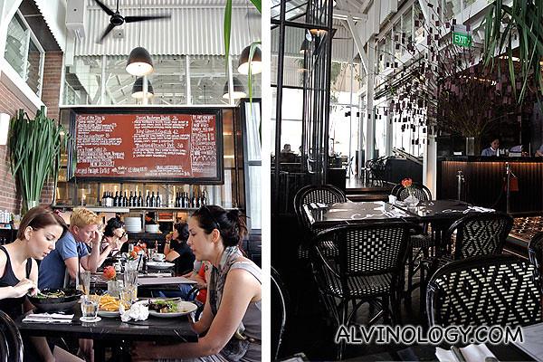 Love the restaurant interior
