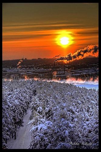 winter snow ice sunrise finland lumi talvi tampere pyynikki jää pyhäjärvi auringonnousu