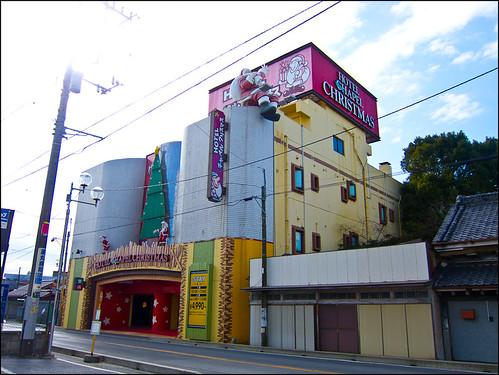 Love hotel en pleno Kisarazu