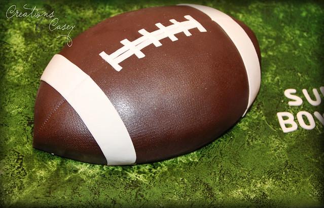 Super Bowl XLVI Cake