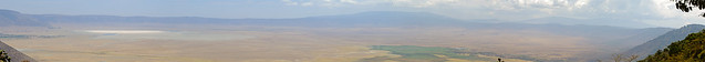 Ngorongoro Crater - Panorama