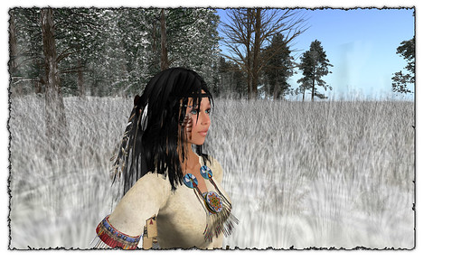 native girl finds the plain by Shabby Chics