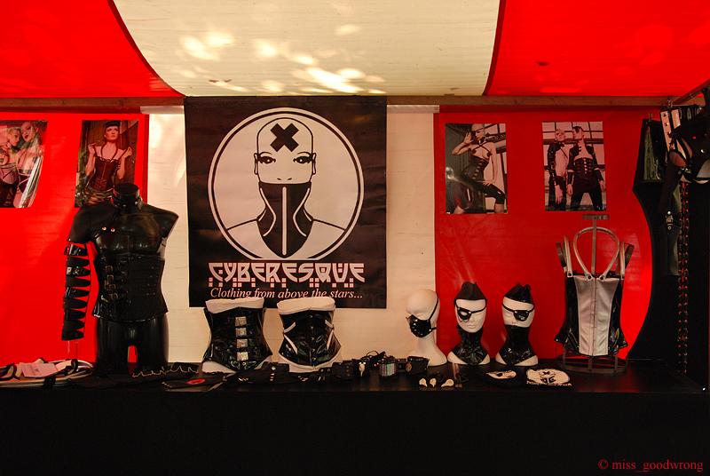 Summer Darkness 2010 Market stand