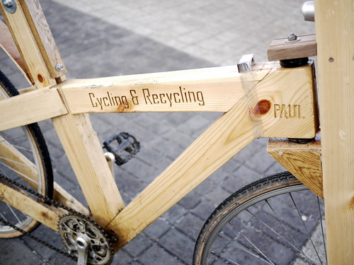 Cycle-Recycle - Paul's Wooden Bike - 1