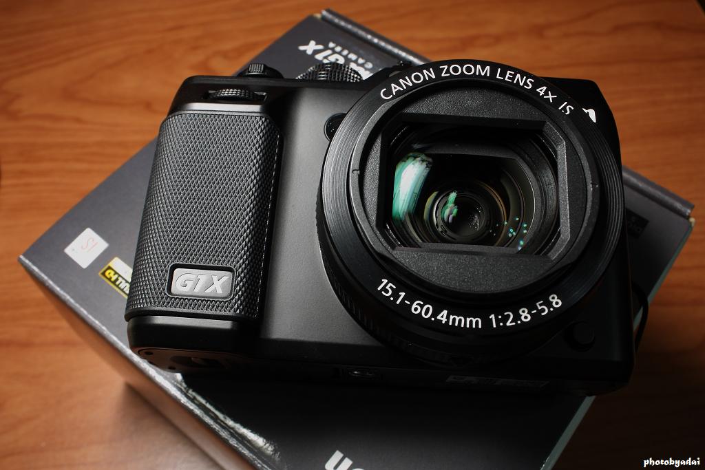 2012.2.9 CANON G1 X Unboxing_450D