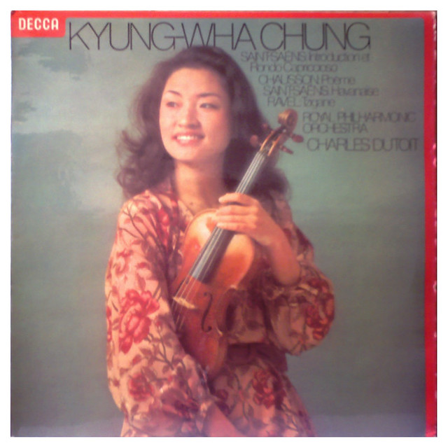 Photo:UK DECCA SXL 6851 Kyung-Wha Chung, Chausson: Poeme By amadeusrecord