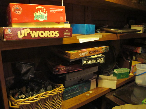 Board games! Play while you wait for the show at the Neutral Ground. Photo by Briana Prevost