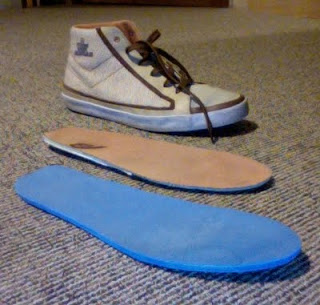 shoe component trio