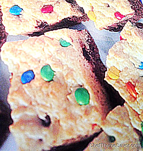 Colorful Easy Brownie Recipe