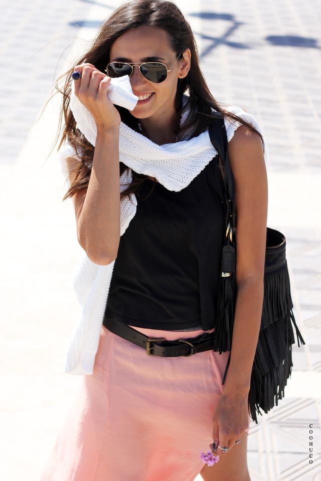 pink skirt blogger 2