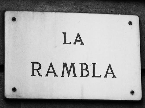 La Rambla - Barcelona, Spain