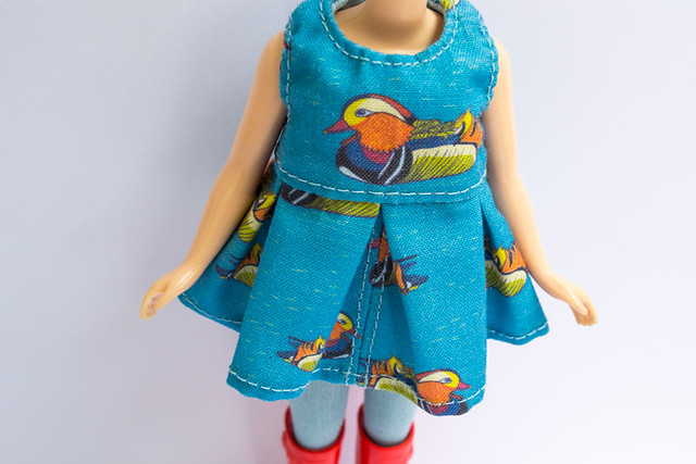 Mandarin Duck Blythe Dress
