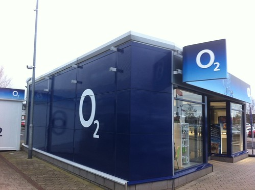 O2 New Signage