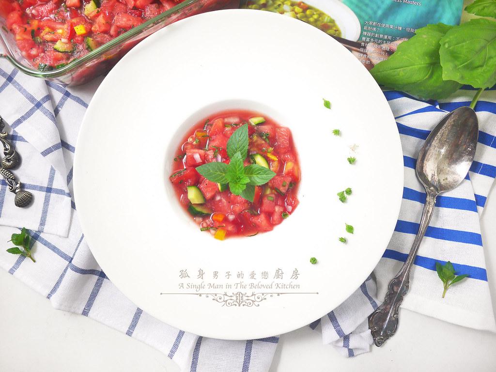 孤身廚房-西班牙西瓜冷湯22