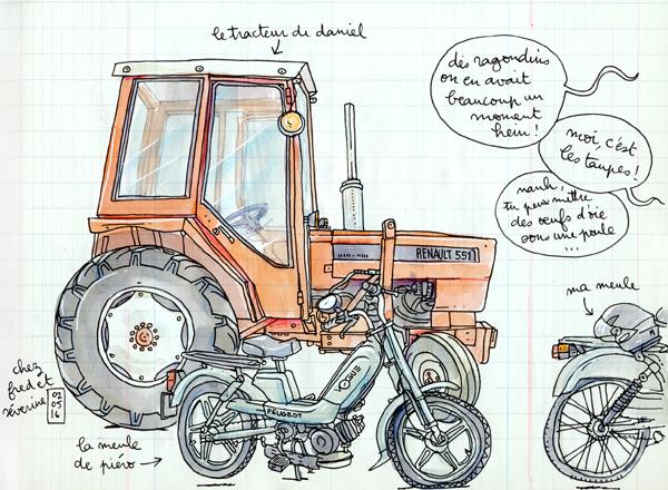 le tracteur de daniel