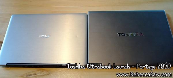 Toshiba Ultrabook - Portege Z830-13