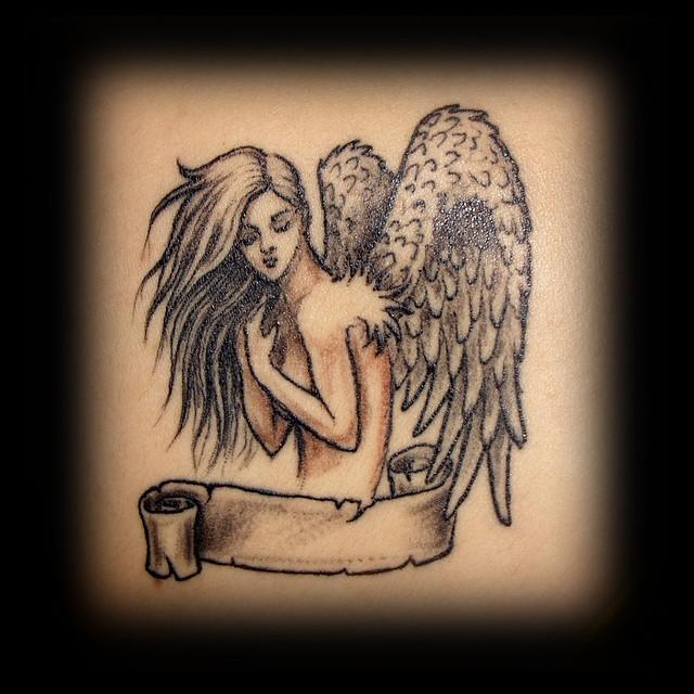 Erdoğan Çavdar Dövmeleri - Melek Dövmesi / Angel Tattoo