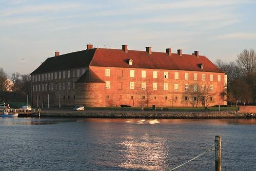 Sønderborg Slot i solen