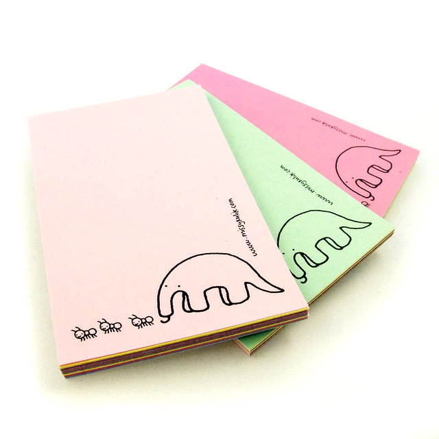 Mr. Anteater Mini Notepad 4