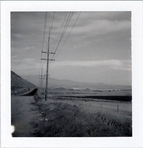 california landscape polaroid view forever 195 desrt perris type84 expired092007