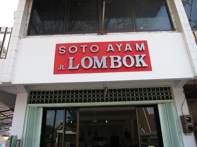 Soto Ayam JL Lombok