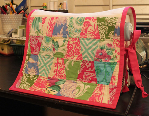 scrappy tumbler sewing machine cover