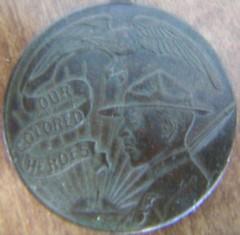Our Colored heros medal Asklar specimen obverse