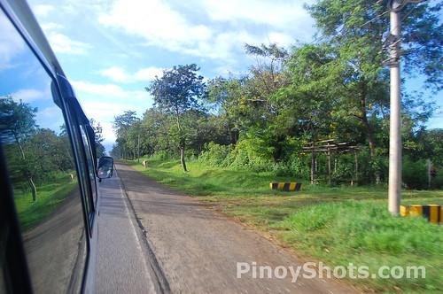 Speeding van Bukidnon Philippines
