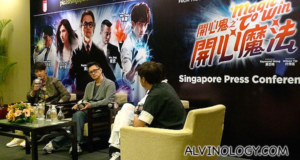 MAGIC TO WIN Singapore press conference