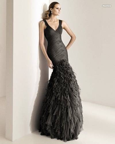 EVENING DRESSES 2011 PRONOVIAS NEW LINE - SPORT&amp-BEAUTY